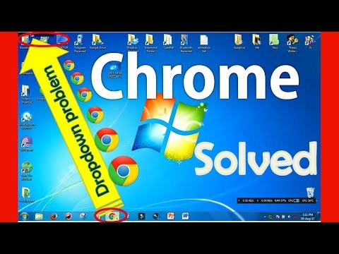 Google Chrome Browser Dropdown taskbar to Full Screen Restoration Problem Solved. Firefox also works