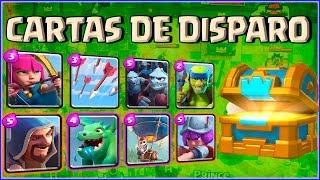 SOLO CARTAS DE DISPARO - MAZO MIX #8 - CLASH ROYALE A POR TODAS - Español - CoC