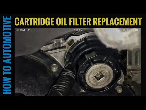 How to Change the Cartridge Oil Filter on a Toyota