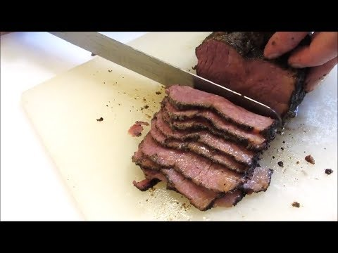 How to make Pastrami! - Smoked Corned Beef Brisket