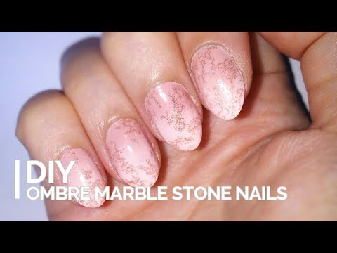 Ombre Marble Nails