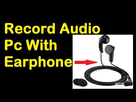 How To Record Audio With Earphones.[Hindi-हिंदी]