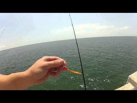 Spanish Mackerel Fishing at the Sunshine Skyway Fishing Pier
