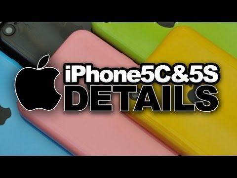 iPhone 5S, 5C and IOS7 Details Revealed - Fingerprint Identification, New Camera, Colors & More