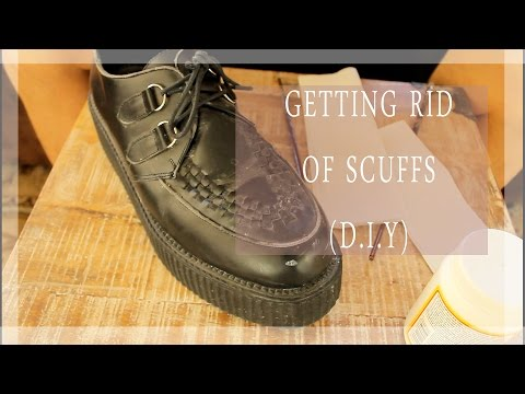 D.I.Y. How To Get Rid Of Scuffs/Scrapes On Shoes (Really Easy, Affordable and Fast!)