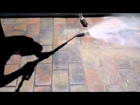 Pressure Washing Pavers Clean