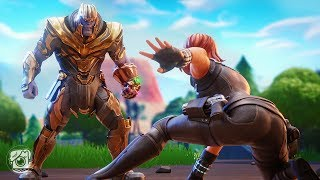 THANOS vs. AVENGERS: ENDGAME! (A Fortnite Short Film)
