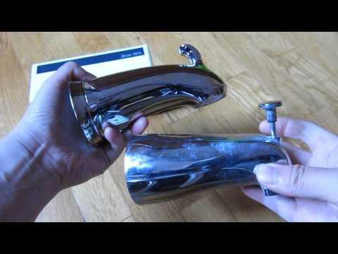 Kohler Forte Diverter Shower Bath Spout Review and Unboxing (10281, 10280)