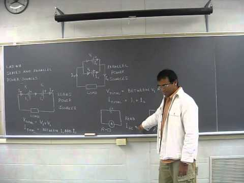 PHYS101 Lab # 11 Series and Parallel Power Supplies