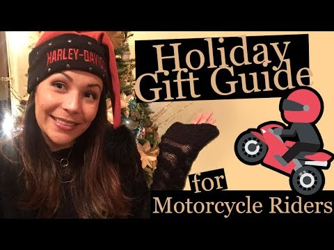 Holiday Gift Guide: Motorcycle Rider Edition