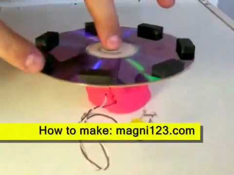 How to Build Magnetic Power Generator