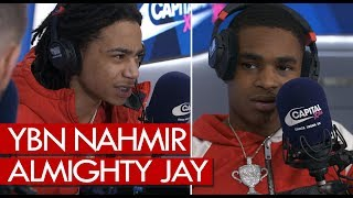 YBN Nahmir & Almighty Jay on Blac Chyna, players life, London show, mixtape - Westwood