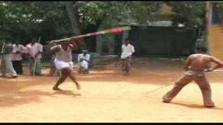 Real silambam fight