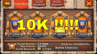 Guildwar   720k + Target   Let mino Die 😲😲😆😆   Top-5