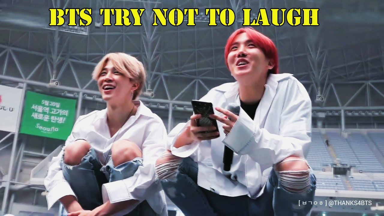 BTS being BTS (BTS Try Not To Laugh)