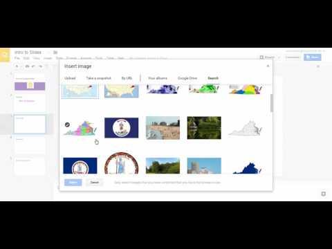Insert Image - Google Slides