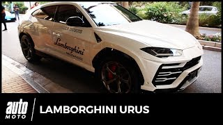 Lamborghini Urus : nos premiers tours de roues lors du Pirelli P-Zero Experience