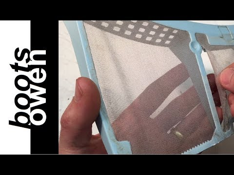 How to repair tumble dryer filters (easy!)