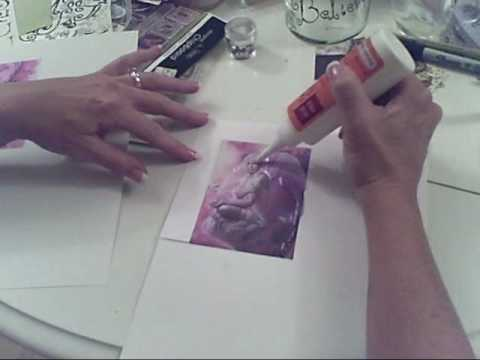 How to Use 3d Crystal Lacquer