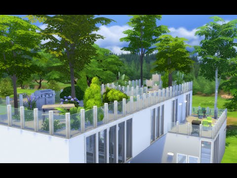 Modern House - Roof Garden