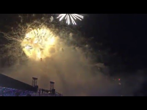 Celebrate 2016 - Fireworks for More than 8 minutes at Marina @ Floating Bay