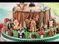 Karen Davies Sugarcraft Cake Decorating Moulds / Molds - Woodland Animals - Tutorial - Free - How To