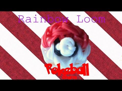 Rainbow Loom Pokeball Tutorial