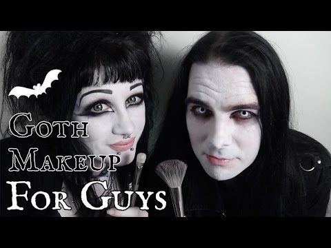 Goth Makeup Tutorial for Guys! | Black Friday