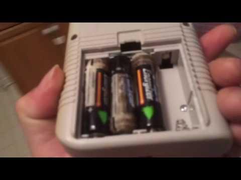 Original GameBoy corroded batteries