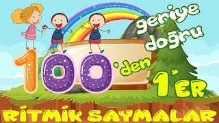 Download 100'den Geriye Doğru 1'er 1'er Ritmik Sayma Video