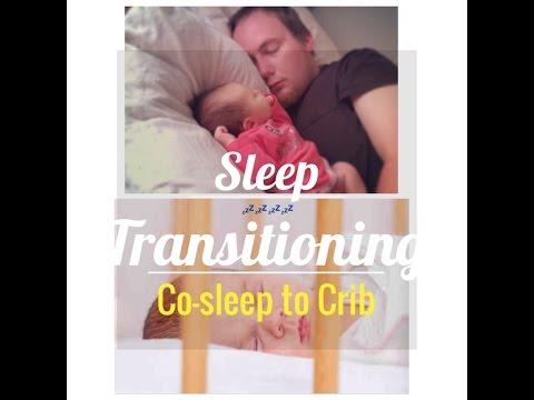 Sleep training (from co-sleeping to crib)