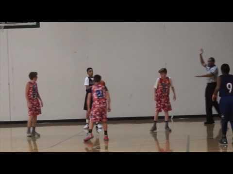 AAU Basketball - 12U Team Layup vs Boise Slam - 2017 Hoopsource - Adidas Tourney Day 3, pt 2