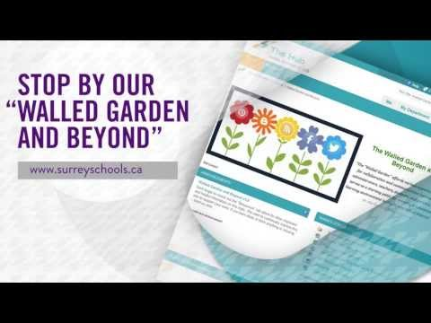 Learning Is Social - Surrey School District SD#36 - at the Walled Garden & Beyond