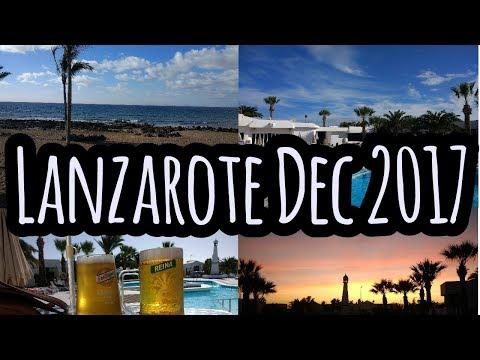 Puerto Del Carmen Lanzarote December 2017
