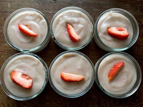 Strawberry Pudding - Episode 326 - Baking with Eda