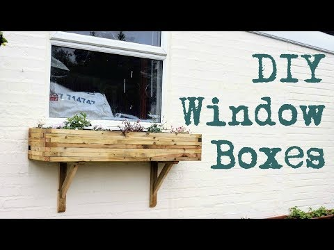 DIY Window Boxes & Gallows Brackets | The Carpenter's Daughter