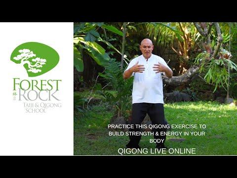 Practice thisQigong exerciseto build strength &energy inyour body