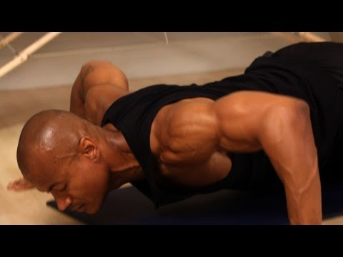 How to Do a Wide Grip Push-Up | Chest Workout