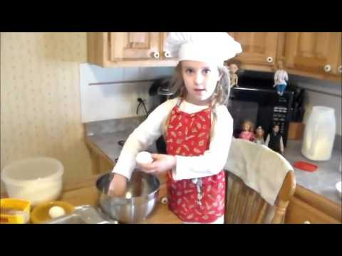 How to make Chocolate Chess Squares with Aubrey & Barbie