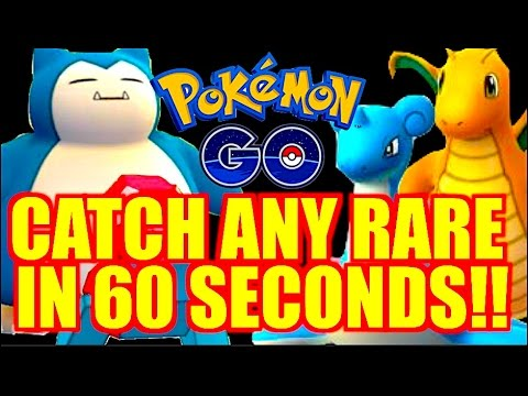 HOW TO FIND AND CATCH RARE POKEMON (EASY) IN POKEMON GO!!
