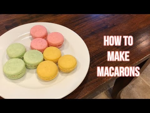 How to Make Tasty Macarons