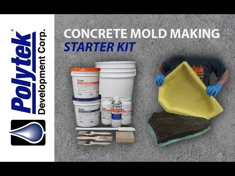 Concrete Mold Making - Starter Kit Tutorial