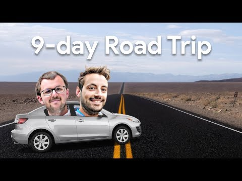 Road Trip from San Francisco (California, Nevada, Utah, Arizona)