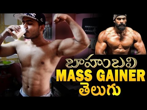 Homemade Mass Gainer Telugu for Baahubali 2 - The Conclusion   Prabhas, Rana Daggubati  Epic Body