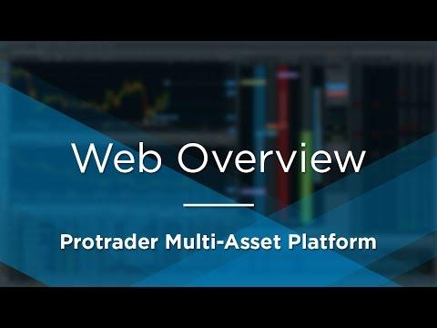 Protrader Multi-Asset Platform - Web Overview