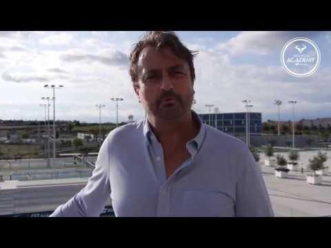 Xxx Mp4 Henri Leconte Visits Rafa Nadal Academy By Movistar 3gp Sex