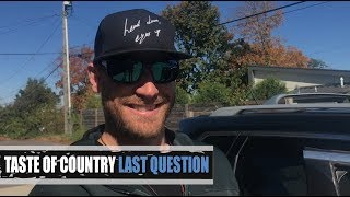 Yep, Chase Rice Is Down With the Spice Girls - Last Question