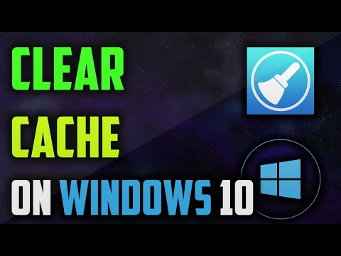 HOW TO CLEAR CACHE ON WINDOWS 10, 8, 8.1, 7