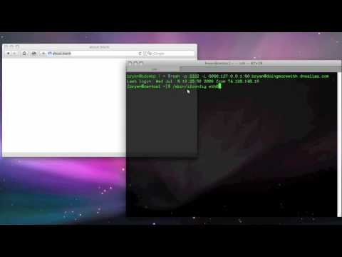 OpenSSH: Basic OSX and Linux tunnels