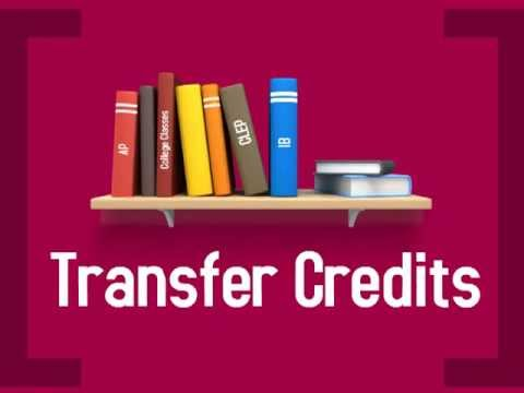 AP, IB, CLEP, and College Transfer Credits